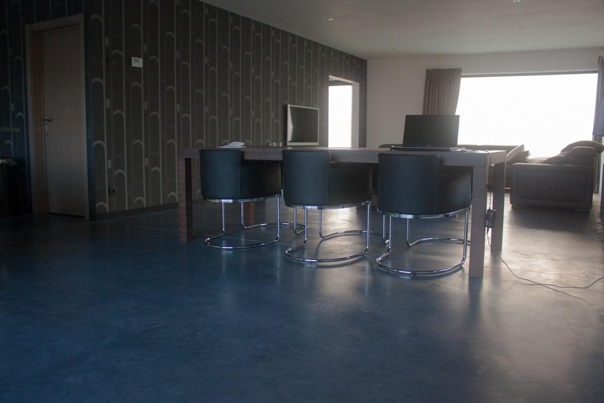 Zwart Betonvloer Keuken : Gepolierde betonvloeren vvs betonvloeren